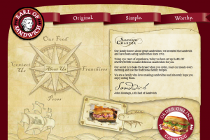Earl Of Sandwich screenshot.